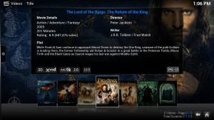 KODI can also play most video formats, both off-line and stream sites online